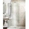 Alterna Lusso Extra svängd duschvägg, 7329231