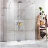 Exklusiv skärmvägg för duschar