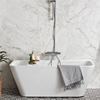 Fristående badkar, rektangulärt badkar
