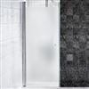 Alterna Picto duschdörr med frostat glas, 7329525