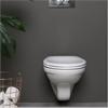 Vägghängd toalettstol