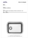 Alterna Beskrivningstext Rektangulär Diskbänkar