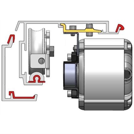 AET SL5 skjutdörrsautomatik