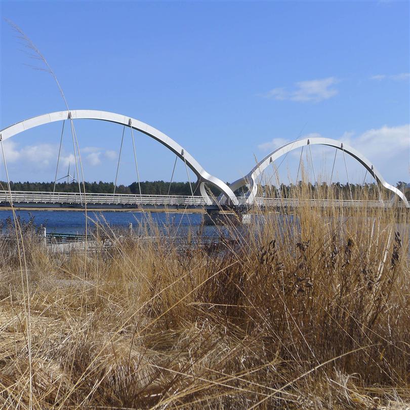 HLS Ledstångsbelysning, Sölvesborgsbron