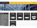 Lamptime parkeringshusarmatur på webbplats