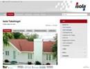 Isola takshingel på webbplats