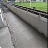 Isobetong® Bravida Arena - Antopus fyller schakt med Isobetong 300 för att möjliggöra asfaltering dagen efter