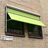 Markisolette, vertikalmarkiser för högre fönster