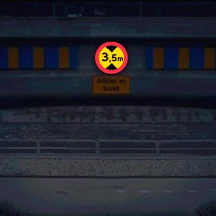 TR Aktiva trafikskyltar