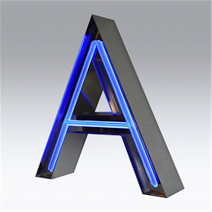 Clarex Belysta profilbokstäver, profilskyltar