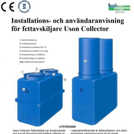 USON Collector Fettavskiljare