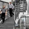 forssellstrappan Svängd trappa
