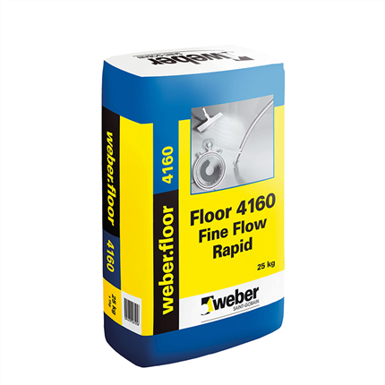 Weber.floor 4160 fine flow rapid