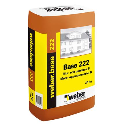 weber.base 222 mur- och putsbruk B