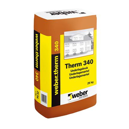 weber.therm 340 underlagsbruk