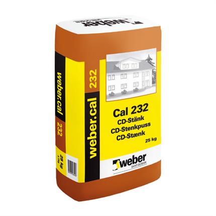 Weber.cal 232 cd-stänk