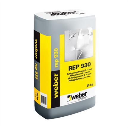 weber rep 930 anläggningsbetong 0-4