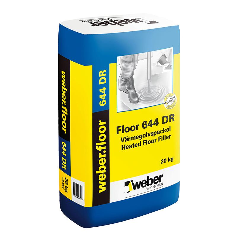 weber.floor 644 värmegolvspackel DR