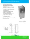 Apinox Modell 453 dricksfontän