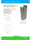 Apinox Modell 471 dricksfontän