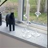 H. Svenssons fönsterbänkar, hyvlad Borghamn kalksten