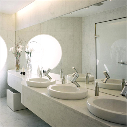 H. Svenssons bänkskivor till bad, Carrara