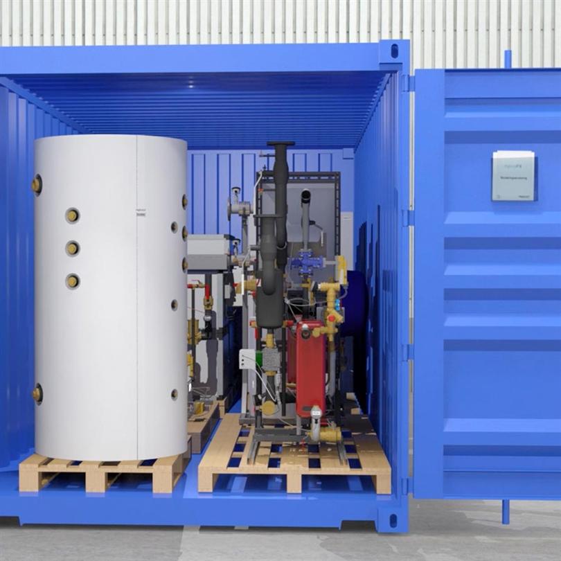 Högfors GST Hybridvärme container