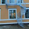 Andersson & Ågrens spiraltrappa utomhus