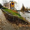 Andersson & Ågren Räcke/handledare vid gångväg