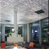 Itaab Fri Design - metalltak med Urban Forest mönsterperforering
