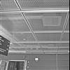 Itaab Lobby FB fällbara innertak av ramlagd sträckmetall, Flygvapenmuseum, Linköping