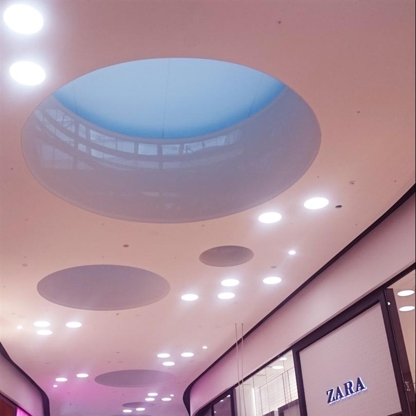 Mall of Scandinavia Itaab belysning