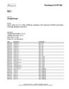 Altech Beskrivningstext Flexslangar, FLX-RF 95C