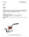 Altech Beskrivningstext Kulventiler 3600LC/A