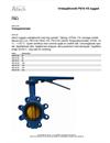Altech Beskrivningstext Vridspjällventil PN16 HS, luggad