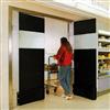 Bernos Pendeldörrar för butiksmiljö