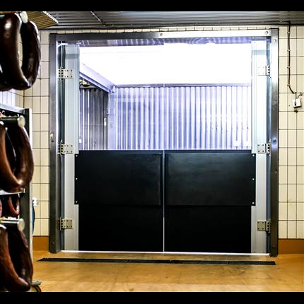 Bernos Pendeldörrar för industri- och lagermiljöer