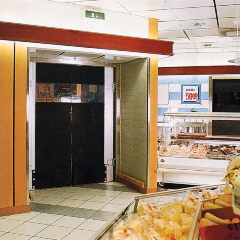 Bernos Pendeldörrar för butiksmiljöer