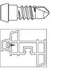 SFS Borrande skruv för aluminium - SPK-S