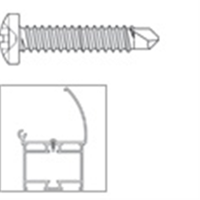 SFS Borrande skruv för aluminium - SN-S