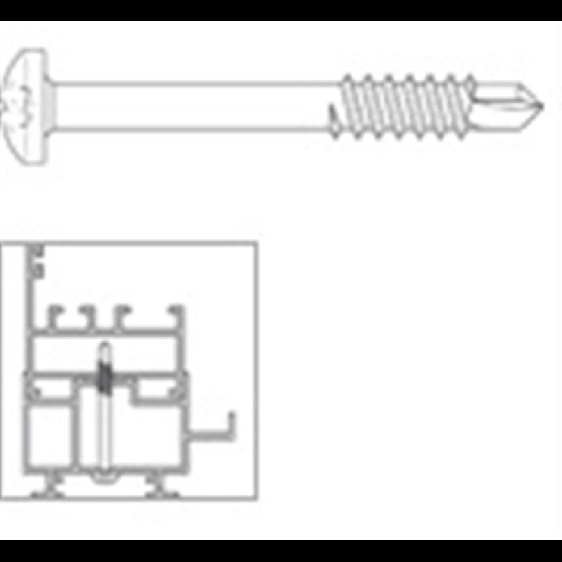 SFS Borrande skruv för aluminium - SA