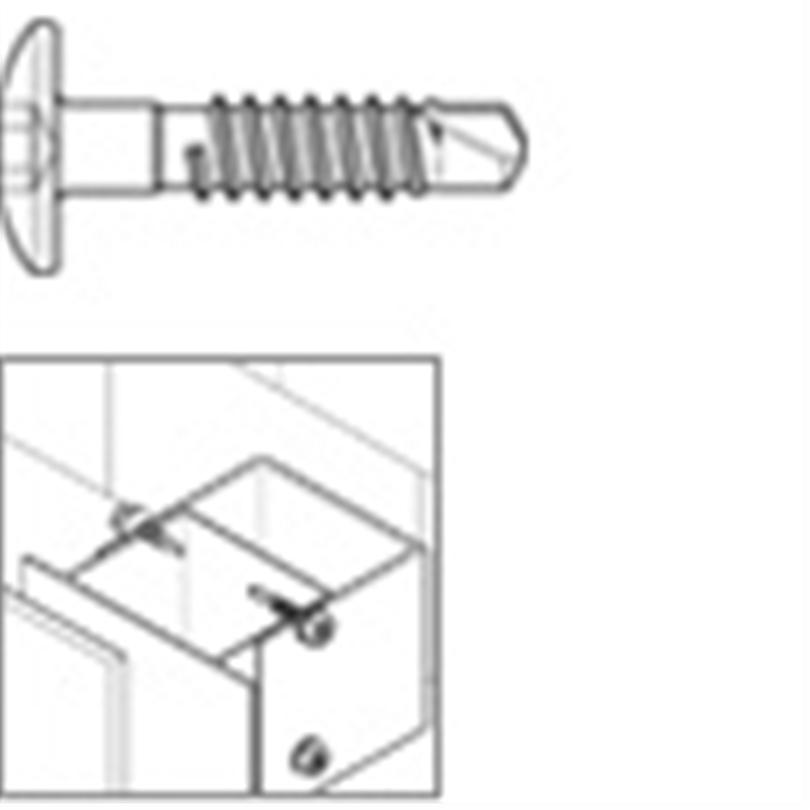 SFS Borrande skruv för aluminium - SLA