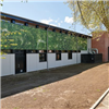 Wallsystems Fasadskivor, Ecole Laurier, digital print