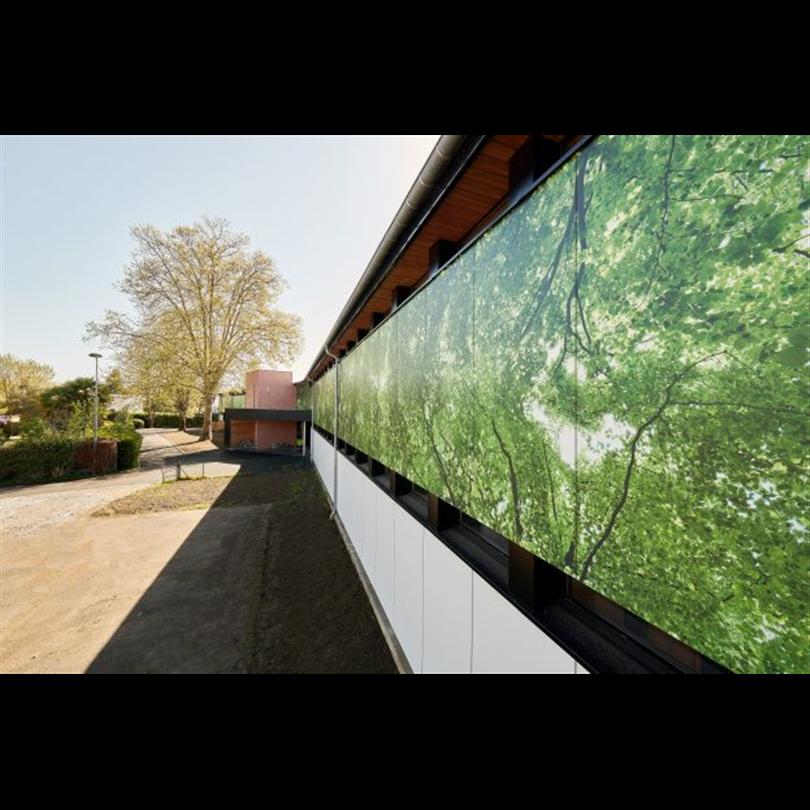 Wallsystems Fasadskivor, Digital print