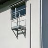 Weland fasadstege, fällbar (med utrymningsplattform)
