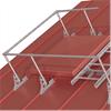 Skyddsräcke på tak