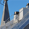 Weland skyddsräcke på tak