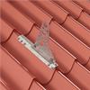 Infästningsprofil för profilerade plåttak, tegelprofil