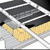 Weland infästning för tätskikt av papp eller duk