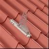 Weland infästningsprofil för profilerade plåttak, tegelprofil
